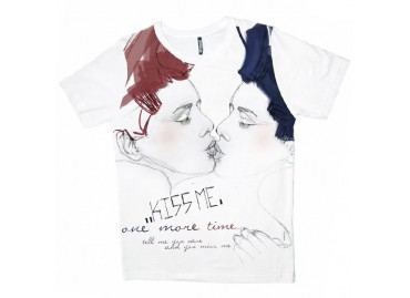 Tshirt mixte KISS ME